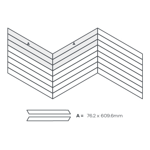 Ribbon Pleat, 1 Product - EP415 wire image
